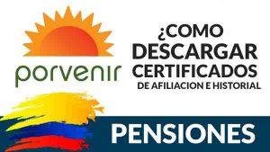 COMO-DESCARGAR-EL-CERTIFICADO-DE-AFILIACION-PORVENIR